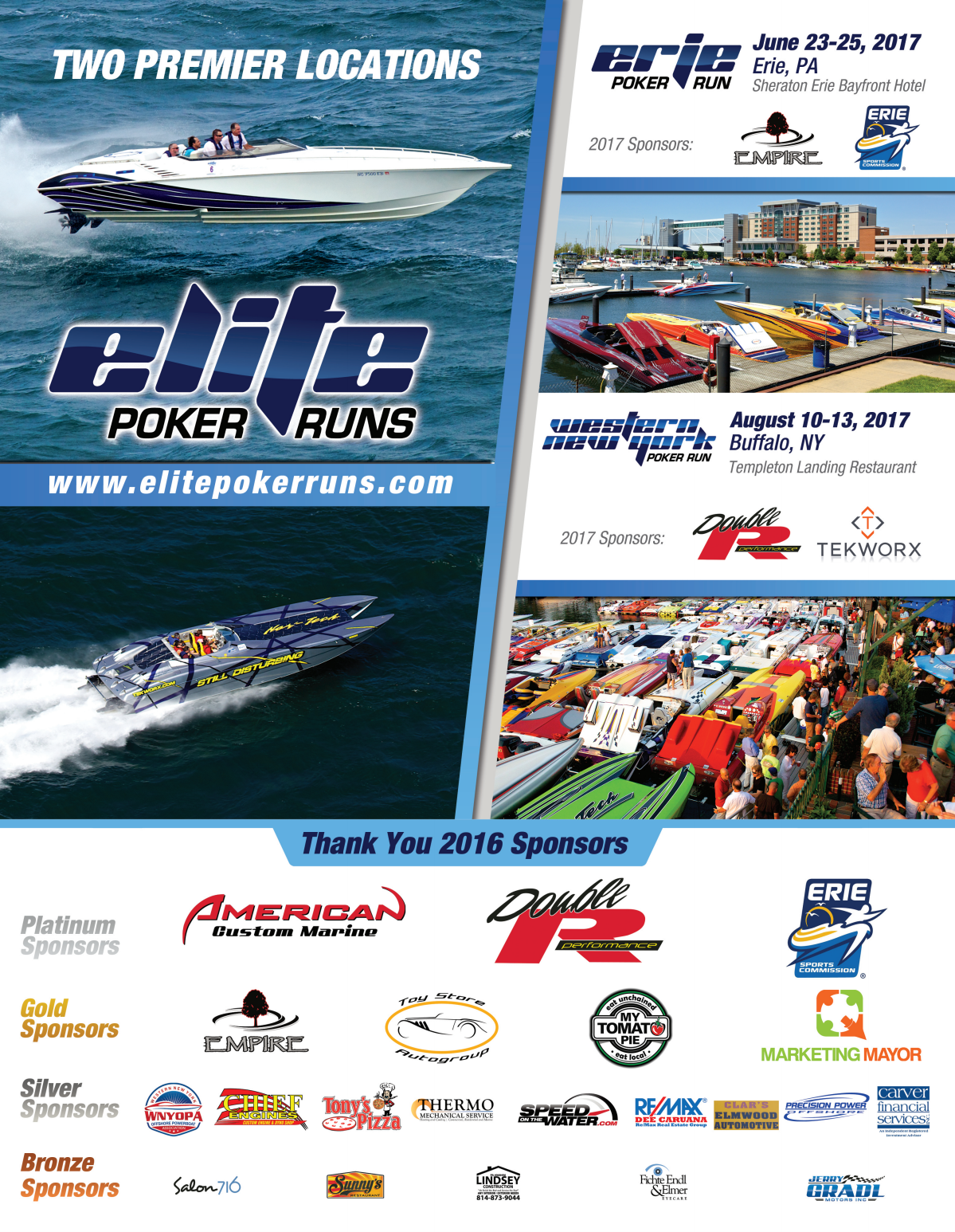 Elite Poker Runs - Speedonthewater Year in Review Ad