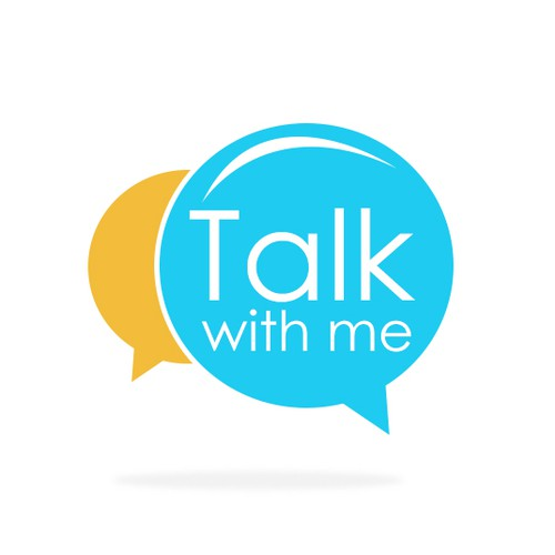 Abstract Logo concept for Talk with Me