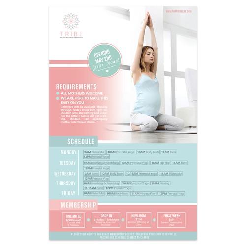 E-Flyer for Wellness Studio