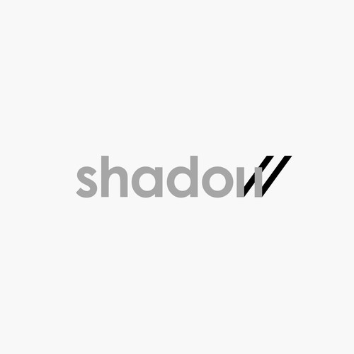 shadow wordmark