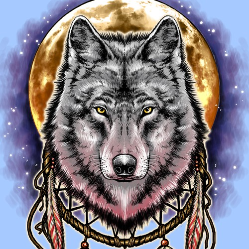 Wolf Spirit for Boneyard Apparel