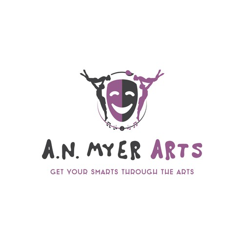 A.N. MYER ARTS - logo design