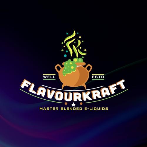 E-Liquid Premium Flavor Logo
