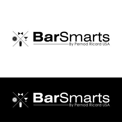 Create a winning logo design for BarSmarts, an online bartender education and certification program.