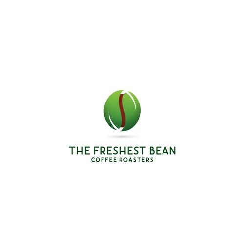 Logo for organic green coffee