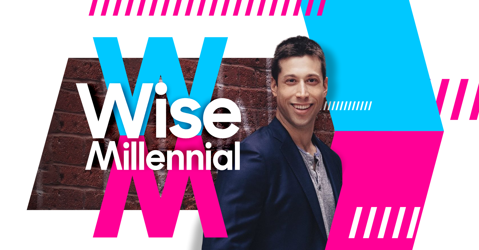 """Wise Millennial Community"" Podcast Album + Youtube branding - based off the award winning book"