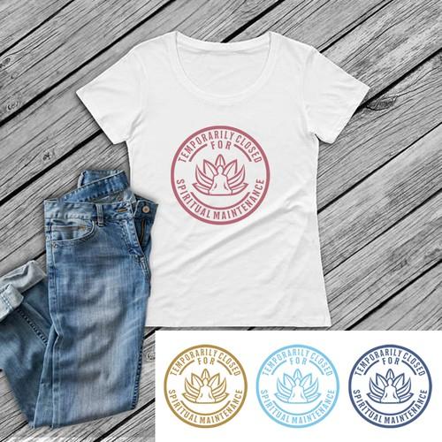 Spiritual Glam  t-shirt