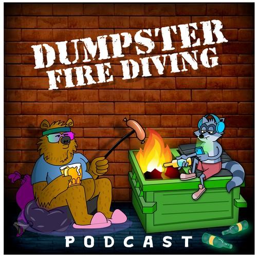 Comedy Podcast Cover Art (Cartoon)