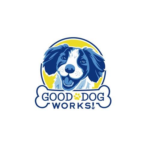 Logo Design for Good Dog Works