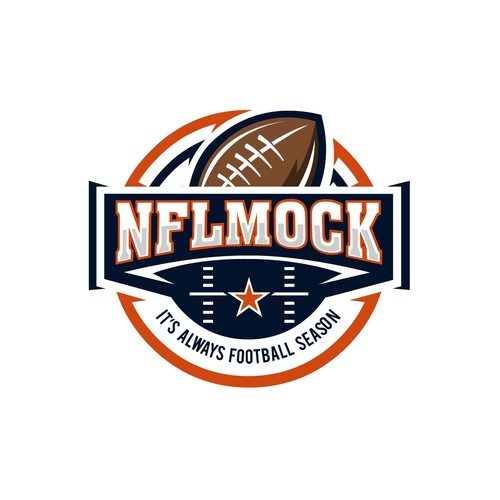 Bold logo for NFLMock Football