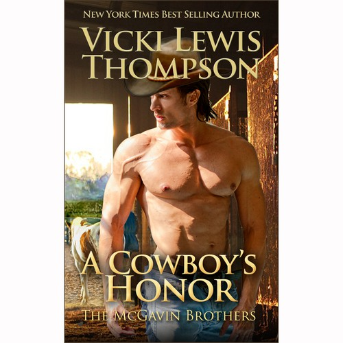 Contemporary western Romance  book cover. 1st in series of3
