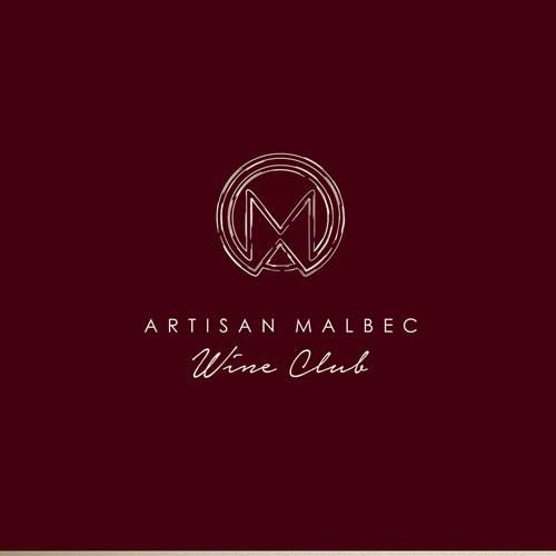 Logo design for a wine club