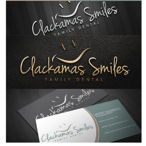 Clackamas Smiles  needs a new logo