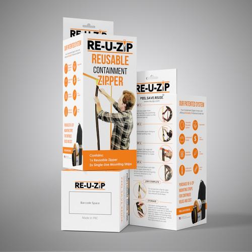 Packaging design for Re-U-Zip