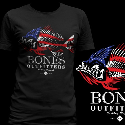 Fishing T-Shirt Design Wanted! 01