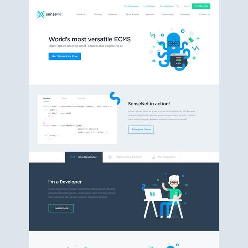 Sensnet website