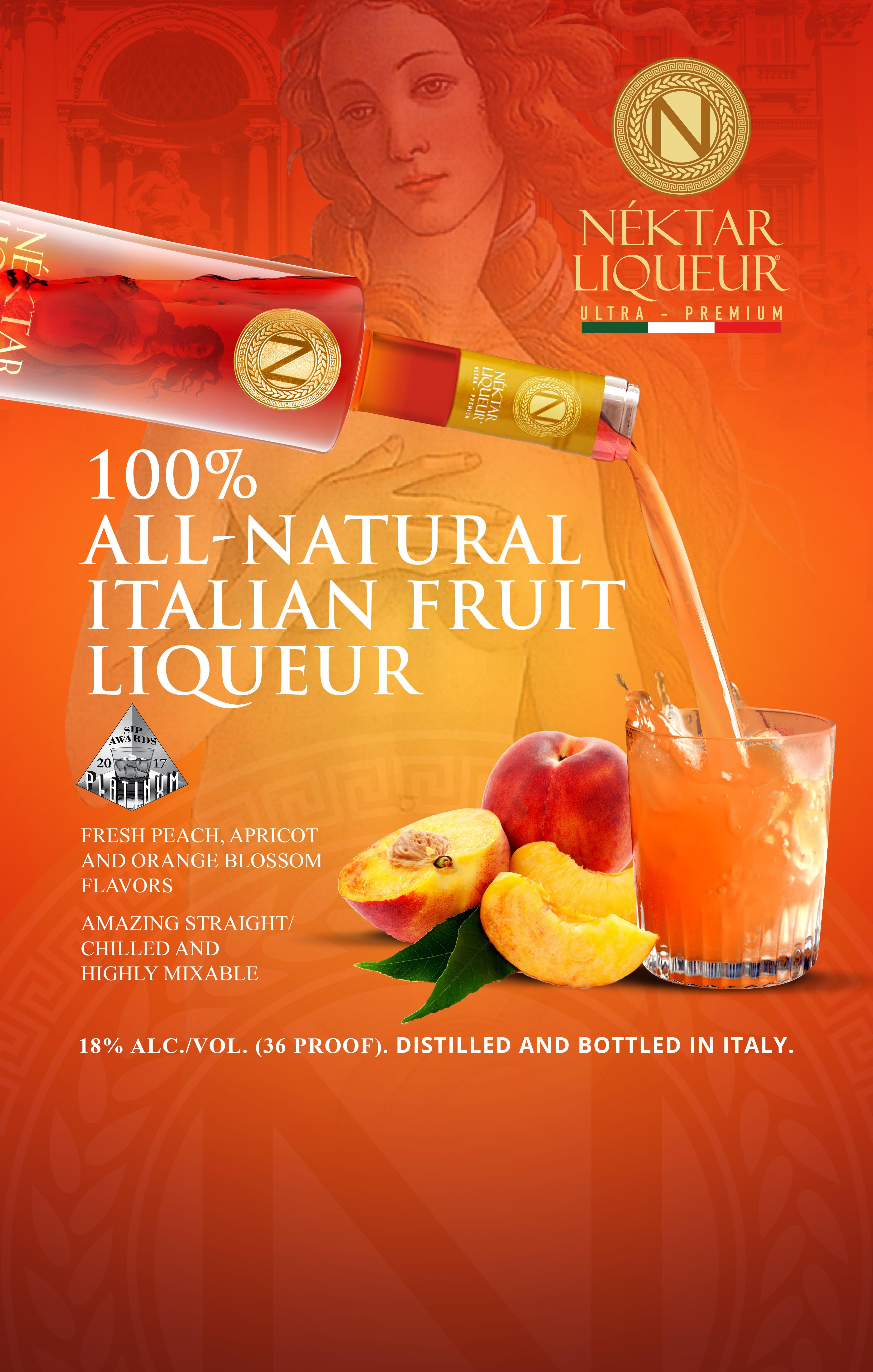 Italian Premium Liqueur case/header card