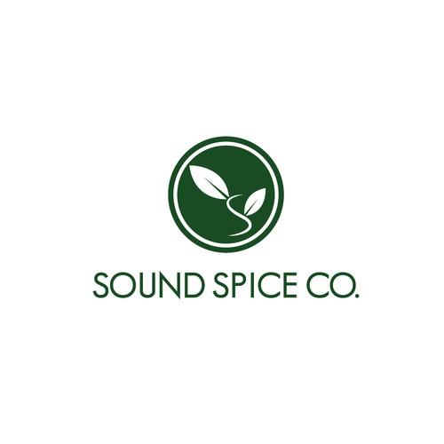 Bold Logo Design for Sound Spice Company