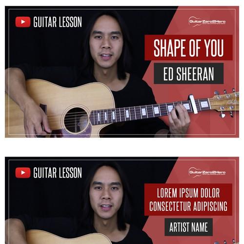 Youtube thumbnail designs