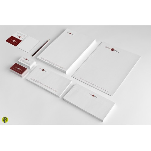stationery for gallery315 home furnishings