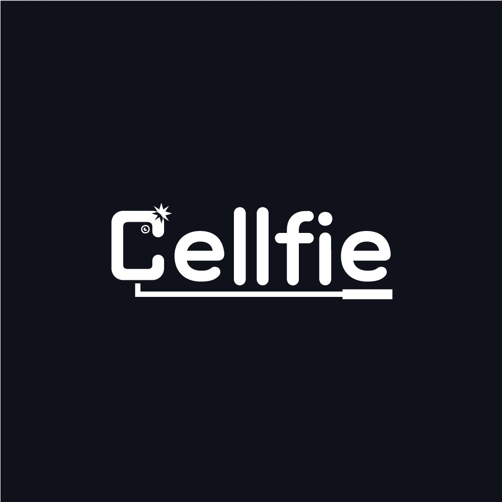 Logo for Phone Grips Distribution Co. called Cellfie