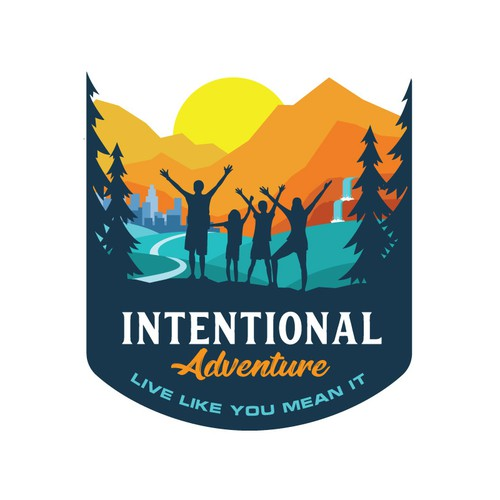 Adventure Logo for Intentional Adventure