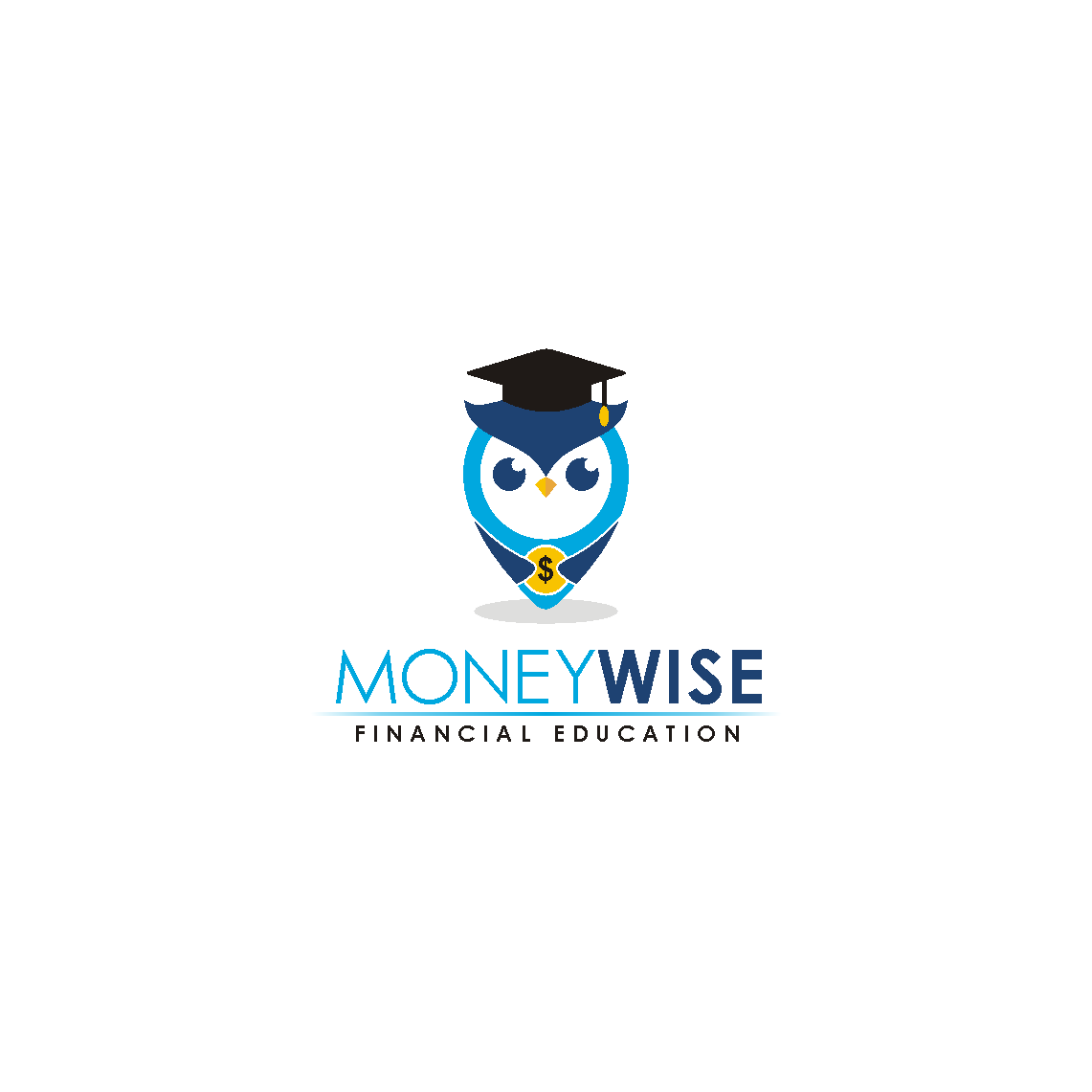 Create an inspirational logo for MoneyWise