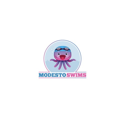 Logo Concept for Kids' Swim School