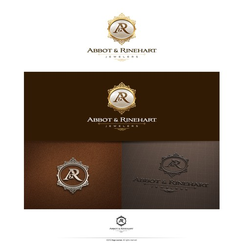 Create the next logo for Abbot & Rinehart Jewelers