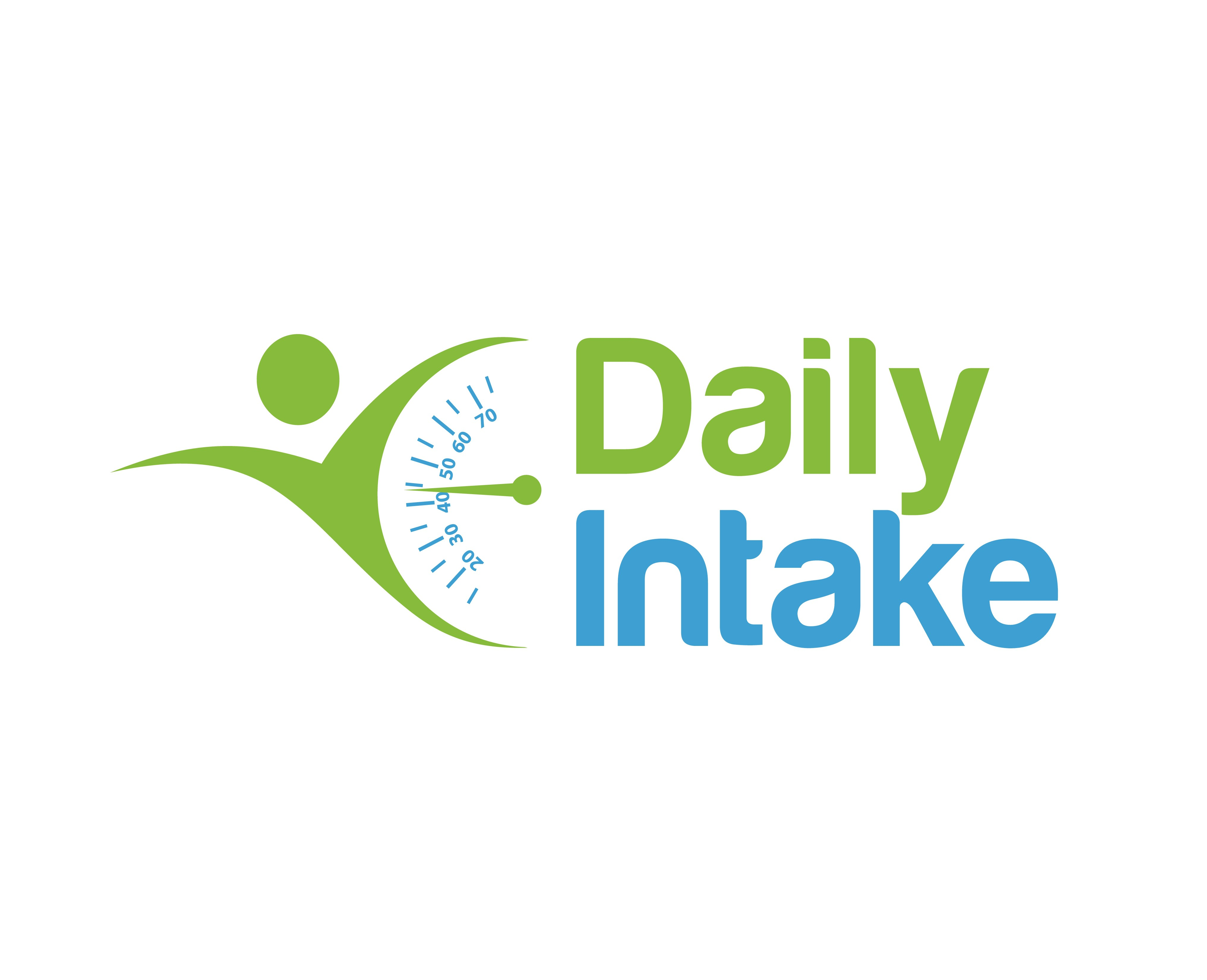 create a  weight loss/diet logo for Daily Intake