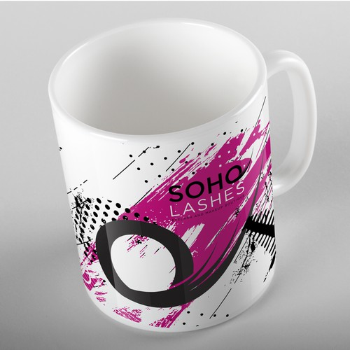 Cool and Fun Mug, Soho Lashes
