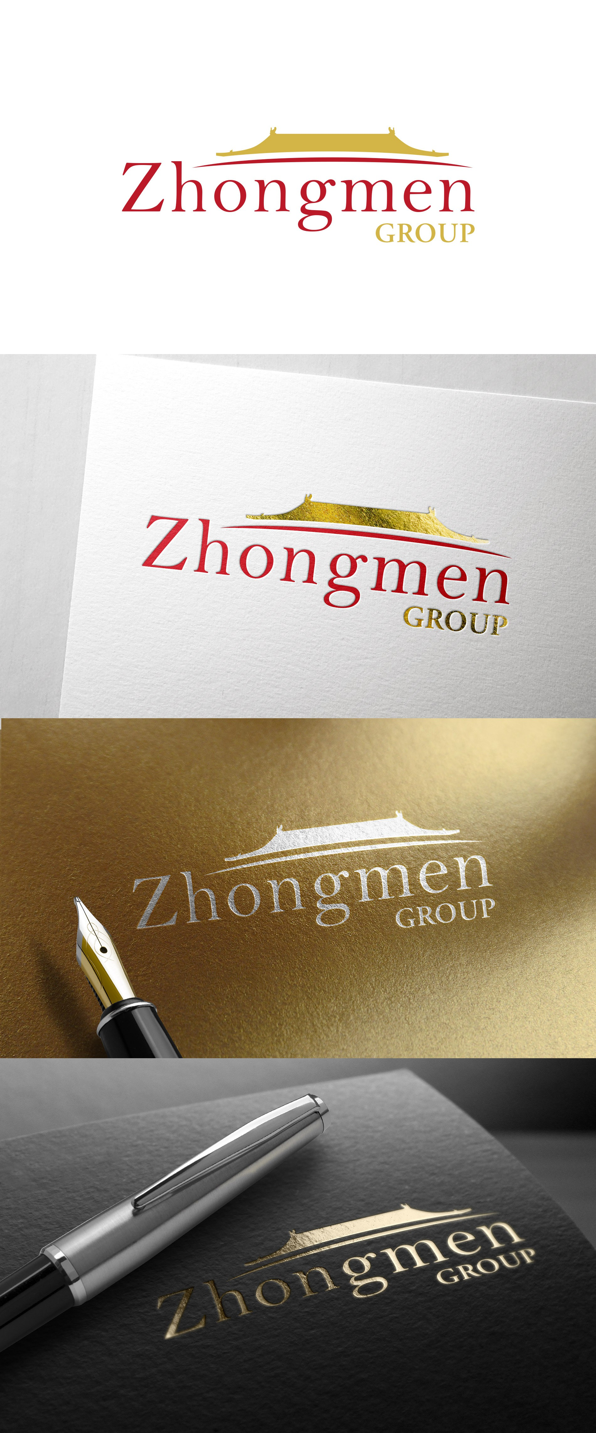 Brand a China-focused investment bank for Zhongmen Group