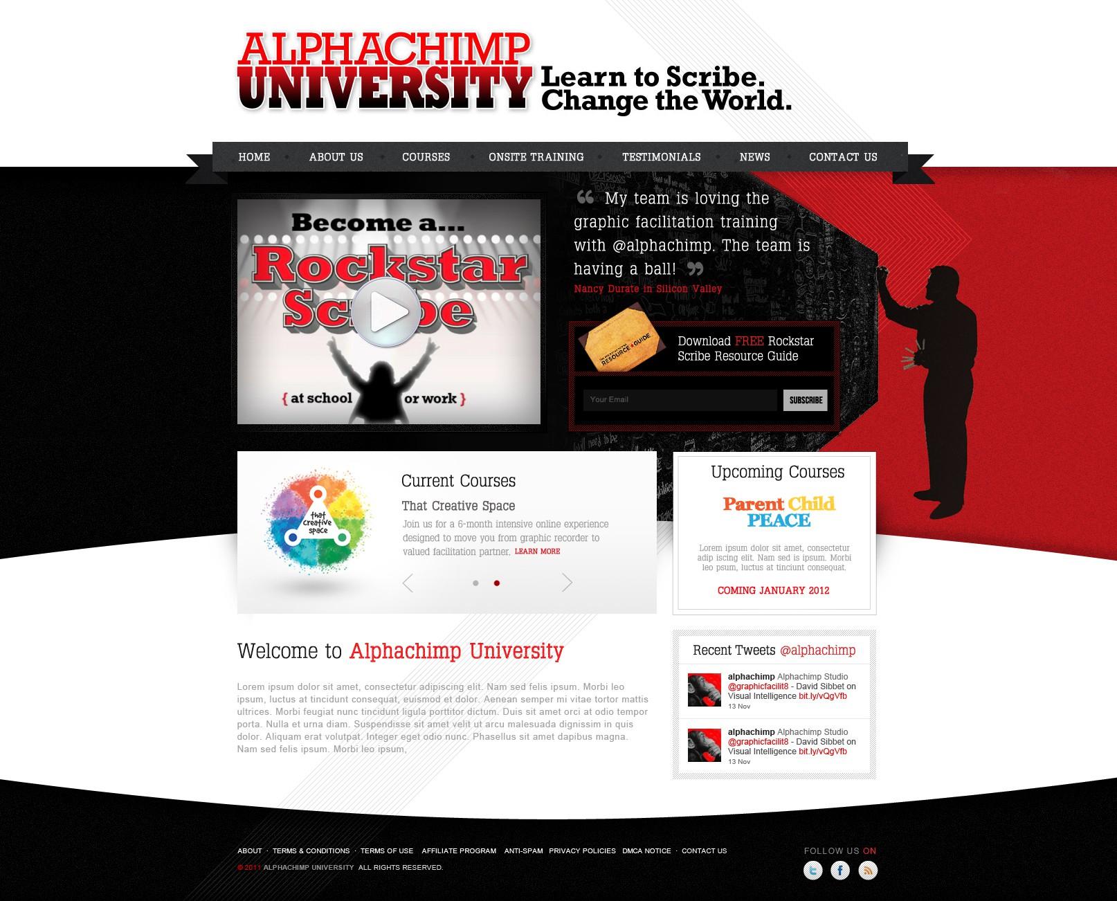 DESIRED: Non-corporate, Innovative & Unique Artistic Webdesign to Inspire Visual Learners