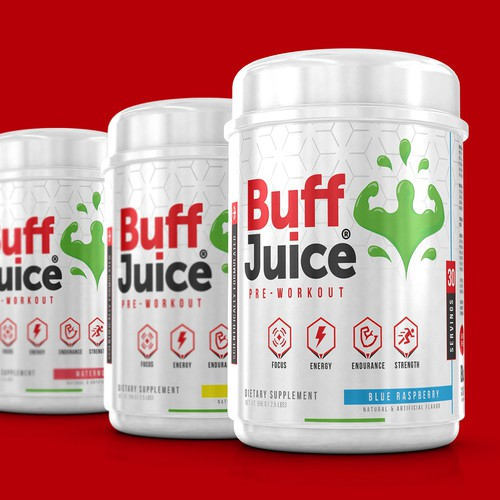 Supplement Design for Buff Juice.
