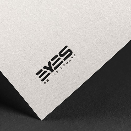 Bold Logo Concept for eyes on the square
