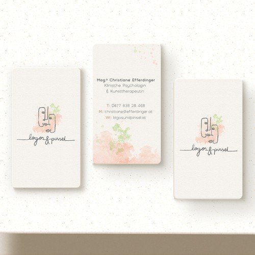 Psychologist logo and business cards