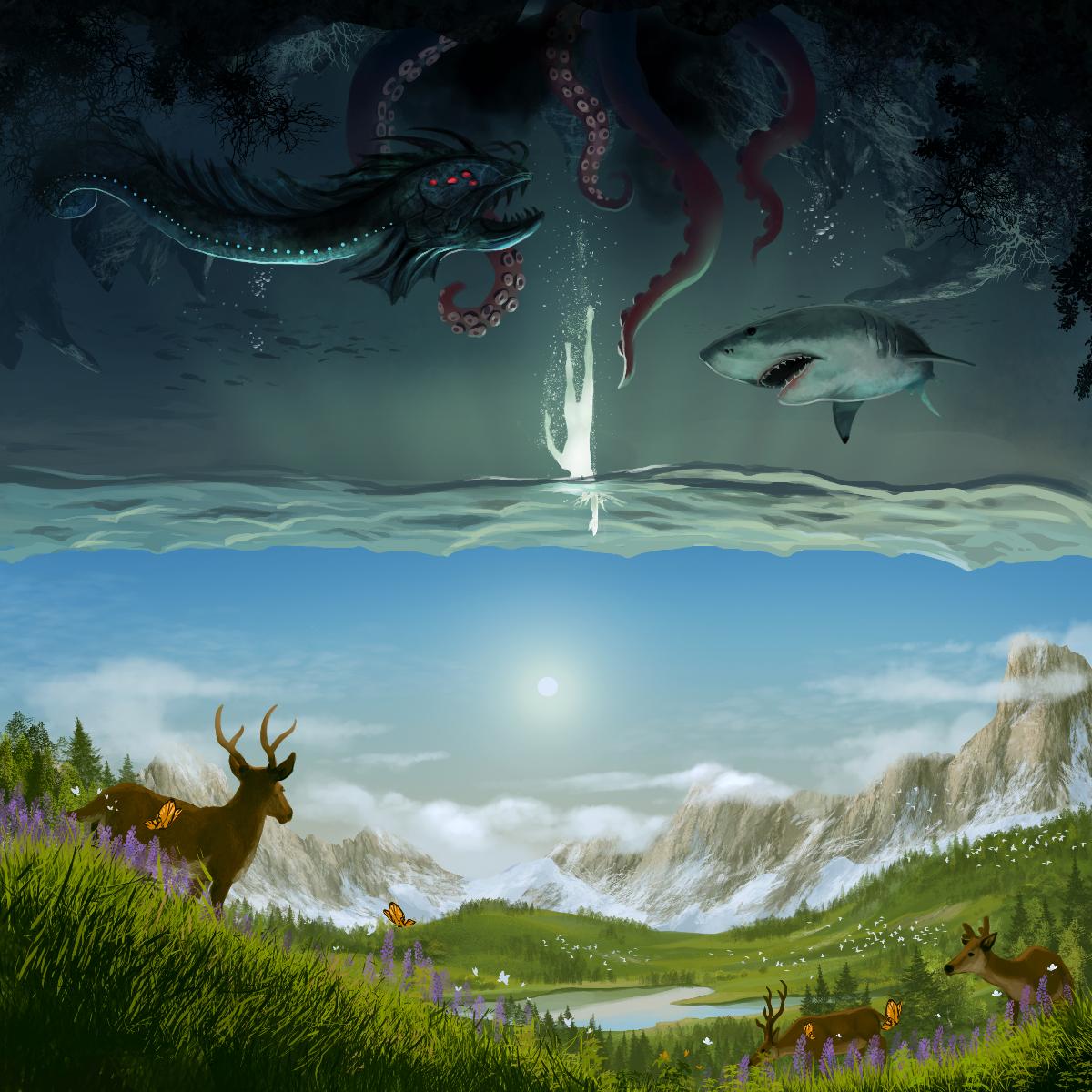 Surreal Landscape Painting