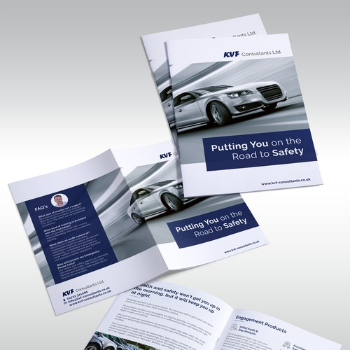 Brochure design for KVF Consultants LTD
