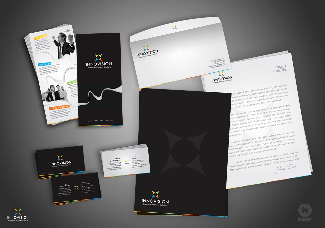 Help Innovision Integrated Business Solutions with a new stationery