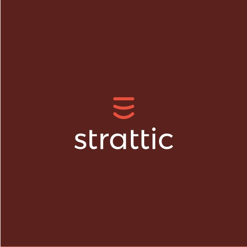 Friendly tech logo for website optimization platform: Strattic