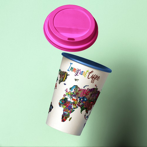 Illustration coffee cup