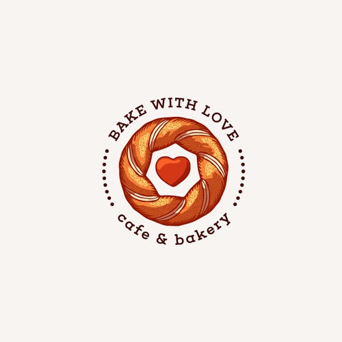 Logo Concept for Bake with Love