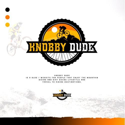 Logo design for knobby dude