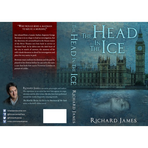 Victorian detective discovers a severed head frozen in the River Thames!