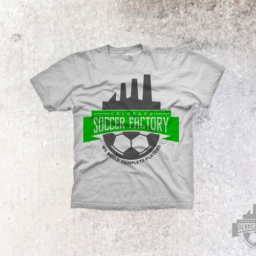Help Colorado Soccer Factory with a new logo
