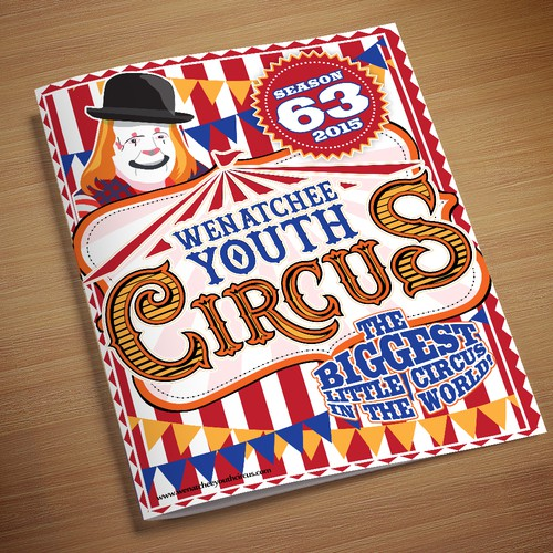 Wenatchee Youth Circus Program Cover