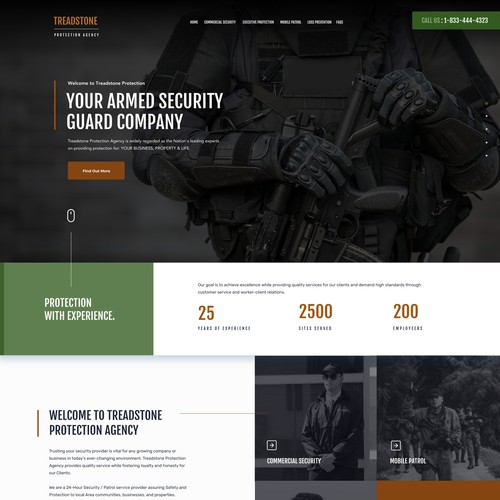 Security protection website
