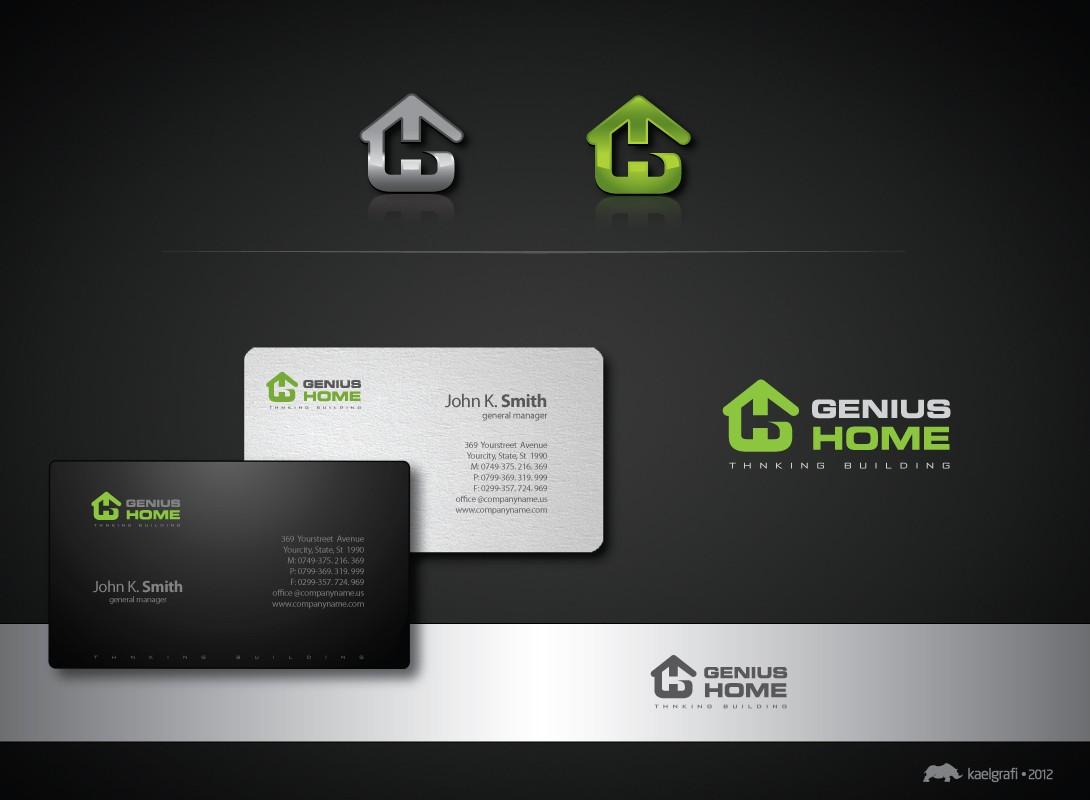 Create the next logo for Genius Home