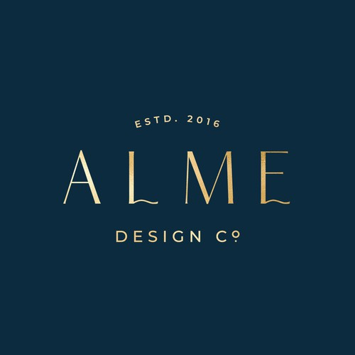 Branding concept for Alme Design Co, home staging business based in SE Wisconsin