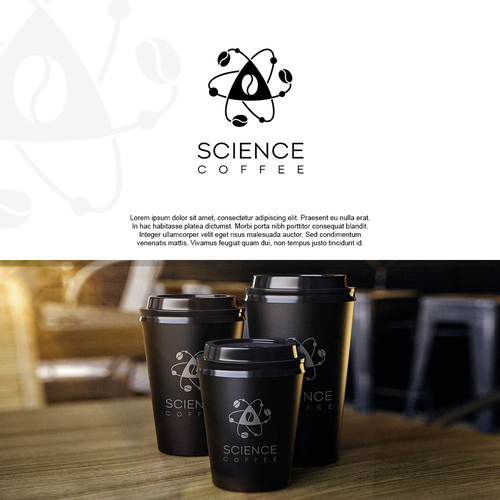 Logo for Science coffee